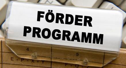 Förderprogramm